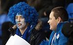St Johnstone v Hamilton Accies&hellip;28.01.17     SPFL    McDiarmid Park<br />Fans Paint it Blue day<br />Picture by Graeme Hart.<br />Copyright Perthshire Picture Agency<br />Tel: 01738 623350  Mobile: 07990 594431