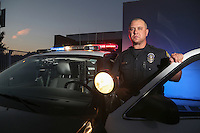 Officer Jason Miller has been part of the California State University Fullerton police force for the past four years. He recently won an award for locating and returning five stolen cars and arresting three individuals.