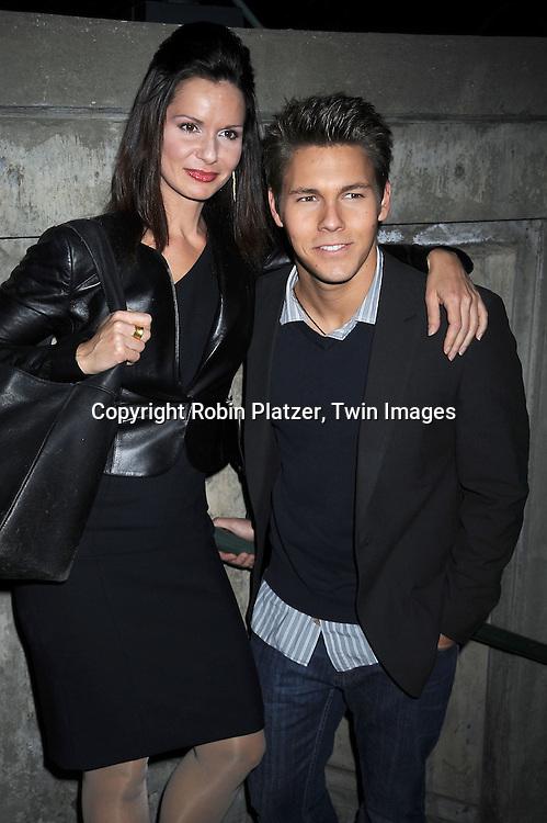 Florencia Lozano and Scott Clifton
