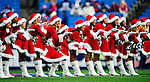 20 December 2009: The Buffalo Jills cheerleaders entertain the fans in their Christmas attire prior to a game against the New England Patriots at Ralph Wilson Stadium in Orchard Park, New York. The Bills defeated the Patriots 17-10. Mandatory Credit: Ed Wolfstein Photo