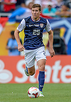 Chicago, IL - Sunday July 28, 2013:   USMNT defender Matt Besler (25) during the CONCACAF Gold Cup Finals soccer match between the USMNT and Panama, at Soldier Field in Chicago, IL.