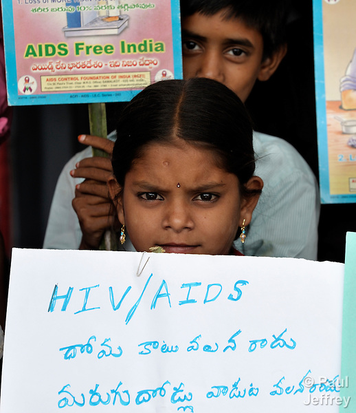 Children Affected By HIV In India
