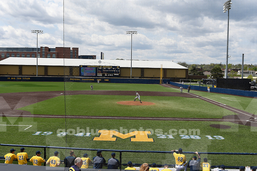 Michigan baseball defeats Rutgers, 12-5, Sunday, May 8, 2016, at Ray Fisher Stadium in the Wilpon Baseball Complex.