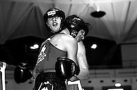 Roma   11 Dicembre  1997.Incontro Boxe dilettanti.Baldassare William (Isola Liri) vs  Di Silvio (Laima Team) .
