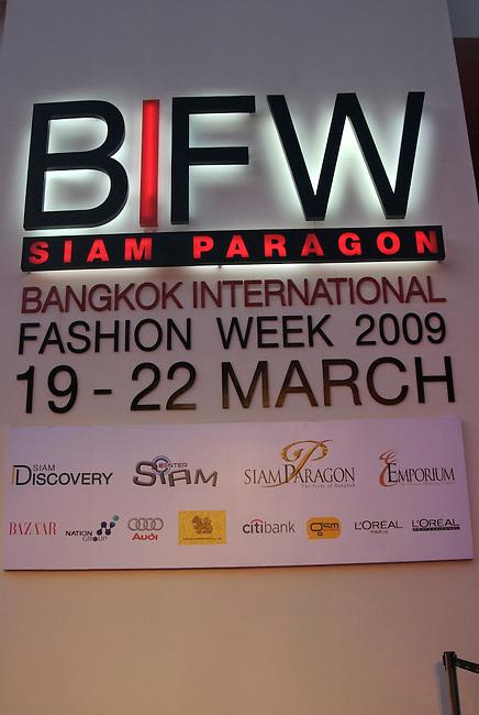 BIFW venue at Paragon Shopping Center March 2009