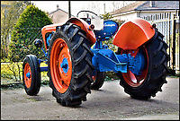 BNPS.co.uk (01202 558833)<br /> Pic: Bonhams/BNPS<br /> <br /> Top Gear - down on the farm...<br /> <br /> The worlds slowest Lambo...<br /> <br /> An extremely rare 60 year-old tractor produced by Lamborghini - a name far more synonymous with stylish sports cars than agricultural machinery - has emerged for auction.<br /> <br /> The 1957 Lamborghini DLA 35 tractor is one of only 117 built by the Italian manufacturer and is valued at &pound;22,000. <br /> <br /> It was made by Lamborghini Trattori which was founded in 1948 by Ferruccio Lamborghini, 15 years before he established the sports car giant Lamborghini Automobili.<br /> <br /> The tractor is powered by Lamborghini's own three-cylinder 2,200cc engine and has 36 brake horsepower.