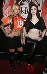 Adult Film Actresses Britney Shannon and Kendall Karson at The Ultimate Super Bowl Party Hosted by Lisa Ann, Jayden James and Britney Shannon at Headquarters Gentlemen's Club, NY