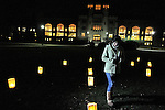 Vassar College campus - religious activities.  A Catholic Mass, Luminary Meditation, French Bread coffee house.<br /> Also, the moon over Vassar.