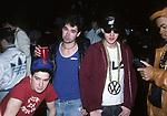 "BEASTIE BOYS - Adam""Ad-Rock"" Horovitz, Adam ""MCA"" Yauch, ""Mike D"" Diamond - Backstage at Greek Theatre in Los Angeles, Ca June 22, 1987"