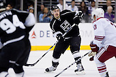 Drew Doughty (Los Angeles Kings, #8) during ice-hockey match between Los Angeles Kings and Phoenix Coyotes in NHL league, March 3, 2011 at Staples Center, Los Angeles, USA. (Photo By Matic Klansek Velej / Sportida.com)