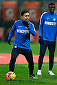 "Yuto Nagatomo (Inter), JANUARY 31, 2016 - Football / Soccer : Yuto Nagatomo of Inter Milan warms up before the Italian ""Serie A"" match between AC Milan 3-0 Inter Milan at Stadio Giuseppe Meazza in Milan, Italy, (Photo by D.Nakashima/AFLO)"