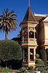 """Victorian Mansions """"Gingerbread House"""" Ferndale California USA."""