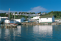 Harbor, Fort Machinac, Mackinac Island, Michigan