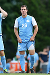 15 August 2014: North Carolina's Alex Olofson. The University of North Carolina Tar Heels hosted the Gardner-Webb University Bulldogs at Fetzer Field in Chapel Hill, NC in a 2014 NCAA Division I Men's Soccer preseason match. North Carolina won the exhibition 7-0.