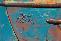 Classic Ford Truck Door Panel - Motor Transport Museum - Campo, CA