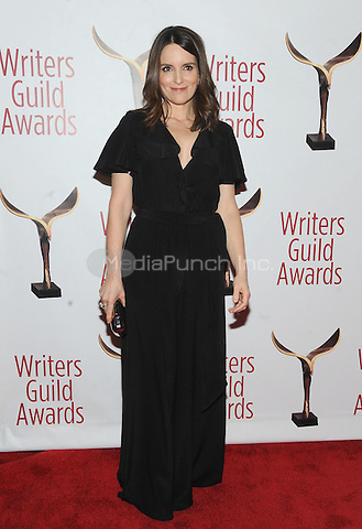 NEW YORK, NY - FEBRUARY 19: Tina Fey attends the 69th Annual Writers Guild Awards New York ceremony at Edison Ballroom on February 19, 2017 in New York City. Photo by: John Palmer/ MediaPunch
