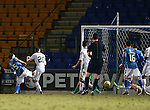 St Johnstone v Inverness Caley Thistle&hellip;09.03.16  SPFL McDiarmid Park, Perth<br />Chris Kane scores for saints<br />Picture by Graeme Hart.<br />Copyright Perthshire Picture Agency<br />Tel: 01738 623350  Mobile: 07990 594431