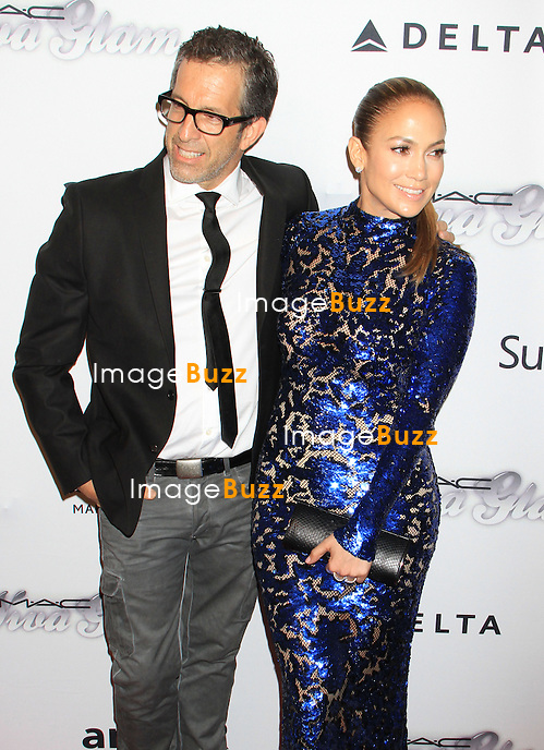 Kenneth Cole & Jennifer Lopez attends the 4th Annual amfAR Inspiration Gala. New York, June 14, 2013.