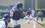 Ole Miss' Andrew Mistone vs. TCU in an NCAA Regional Game at College Station, Texas on Friday, June 1, 2012. Ole Miss won 6-2.