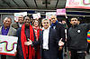 Sadiq Khan <br /> Labour mayor of London candidate and Chuka  Umunna MP for Brixton &amp; Streatham walk around Brixton canvassing locals to support Labour in the forthcoming 5th May election.<br /> <br /> Sadiq Khan <br /> Chaka Umunna <br /> <br /> Photograph by Elliott Franks <br /> Image licensed to Elliott Franks Photography Services