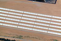 above photograph of solar array Arizona south of Phoenix, AZ