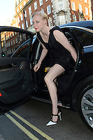 photo of Gwendoline Christie  - car