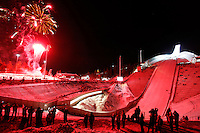 Official opening of Holmenkollen ski jump.