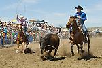 Team roping, Jordan Valley Big Loop Rodeo, ..