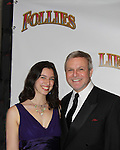 Opening Night - Guiding Light Ron Raines poses with his daughter Charlotte on opening night as he stars in Follies, a James Goldman & Stephen Sondheim's classic musical on September 12, 2011 at the Marquis Theatre, New York City, New York. (Photo by  Sue Coflin/Max Photos