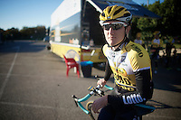 Nick van der Lijke (NLD/LottoJumbo)<br /> <br /> Team Lotto Jumbo winter training camp<br /> <br /> January 2015, Moj&aacute;car, Spain
