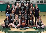12-19-16, Huron High School girl's varsity basketball team