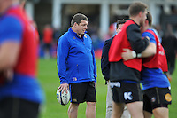 Bath Rugby first team coach Toby Booth looks on during the pre-match warm-up. European Rugby Champions Cup match, between Bath Rugby and RC Toulon on January 23, 2016 at the Recreation Ground in Bath, England. Photo by: Patrick Khachfe / Onside Images