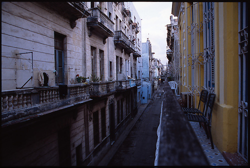 Balcony View, Old Havana, Cuba, 2010 by Paul Cooklin
