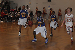 Oxford Middle School's Unique Gipson (3) vs. Lafayette Middle School in boys middle school basketball action in Oxford, Miss. on Thursday, January 17, 2013. Oxford won.