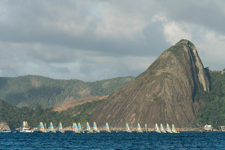 AR_08122016_RIO_PREOLYMPICS_0049.ARW  © Amory Ross / US Sailing Team.  RIO DE JENEIRO - BRAZIL. August 10, 2016. Day 4 of racing at the Olympics.