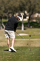 SAN ANTONIO, TX - FEBRUARY 18-19, 2008: The University of Texas at San Antonio Intercollegiate Men's Golf Tournament at Oak Hills Country Club. (Photo by Jeff Huehn)