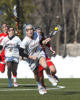 Boston College Women's Lacrosse vs. Boston University,  March 20, 2013