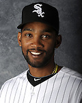 GLENDALE, AZ - MARCH 03:  Alexei Ramirez the Chicago White Sox poses for his official team headshot during photo day on March 3, 2012 at The Ballpark at Camelback Ranch in Glendale, Arizona. (Photo by Ron Vesely)   Subject:   Alexei Ramirez