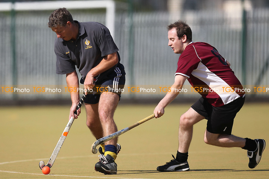 Romford HC 2nd XI vs Wapping HC 6th XI - East Hockey League at Robert Clack Leisure Centre - 22/09/12 - MANDATORY CREDIT: Gavin Ellis/TGSPHOTO - Self billing applies where appropriate - 0845 094 6026 - contact@tgsphoto.co.uk - NO UNPAID USE.