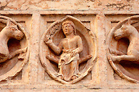 Close Up Of Carving from Baptisty - Palma - Italy