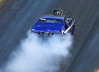Jun 18, 2016; Bristol, TN, USA; NHRA pro mod driver Jim Whiteley during qualifying for the Thunder Valley Nationals at Bristol Dragway. Mandatory Credit: Mark J. Rebilas-USA TODAY Sports