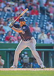 24 July 2016: San Diego Padres outfielder Matt Kemp in action against the Washington Nationals at Nationals Park in Washington, DC. The Padres defeated the Nationals 10-6 to take the rubber match of their 3-game, weekend series. Mandatory Credit: Ed Wolfstein Photo *** RAW (NEF) Image File Available ***