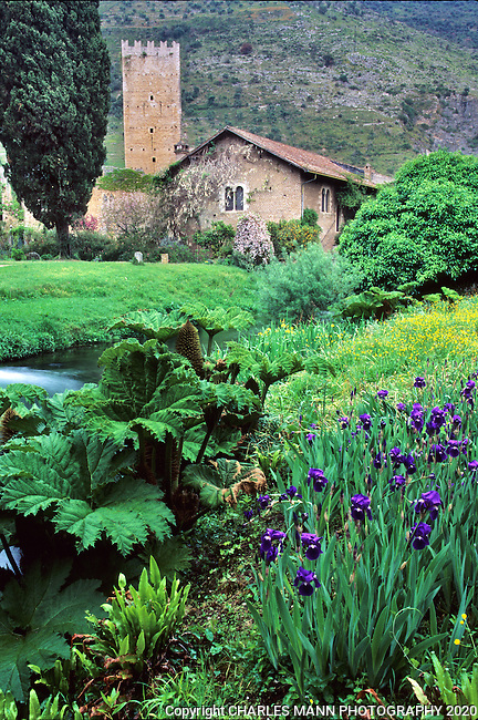 Set among ancient ruins at the source of the  Ninfa River, the garden of Ninfa, south of Rome is perhaps the most famous and picturesque garden in all of Italy.