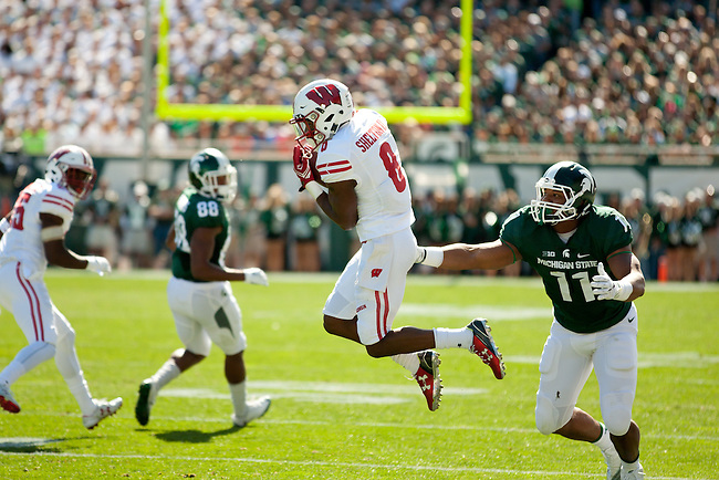 Wisconsin at MSU Footbball