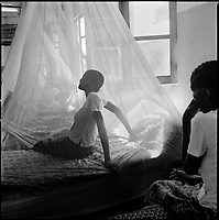 Kuito, Angola, May, 22, 2006.Isabel Viemba, 20, suffers from Tuberculosis and is a patient in Bi&eacute; Province Hospital. TB is endemic in the region, fueled by poverty, malnutrition, inadequate hygiene and the rapid spreading of HIV/AIDS since the end of the civil war in 2002.