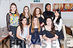 Ashling Breen, kilflynn celebrates her 18th birthday with friends at La Scala's on Saturday Pictured Clare Conway, Ashling Breen, Holly O'Donnell, Back l-r Taylor Fitzgerald, Ciara Gayney, Niamh Brosnan, Shayo Babatunde, Angelica Tuardiano