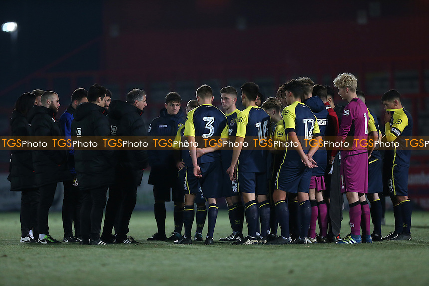 Tottenham Hotspur Youth vs Stevenage Youth, FA Youth Cup Football at the Lamex Stadium on 30th November 2016