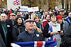 John Rees-Evans <br /> UKIP member and activist and <br /> UKIP Leadership candidate <br /> speaking at a Pro-Brexit Rally on College Green, Westminster, London, Great Britain <br /> 23rd November 2016 <br /> people listening to <br /> John Rees-Evans <br /> speech <br /> <br /> Photograph by Elliott Franks <br /> Image licensed to Elliott Franks Photography Services