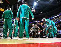 Kevin Garnett of the Celtics is introduced prior to tip-off against the Washington Wizards at the Verizon Center in Washington, D.C. on Saturday, November 3, 2012.  Alan P. Santos/DC Sports Box