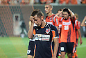 Chikara Fujimoto (Ardija),..AUGUST 7, 2011 - Football / Soccer :..Chikara Fujimoto of Omiya Ardija looks dejected after the 2011 J.League Division 1 match between Omiya Ardija 2-2 Vegalta Sendai at NACK5 Stadium Omiya in Saitama, Japan. (Photo by Hiroyuki Sato/AFLO)
